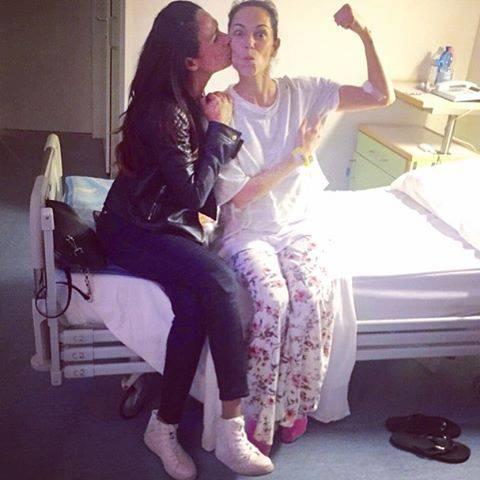 """Giorgia Surina dopo l'operazione per il tumore: """"Sto bene, fate prevenzione"""""""