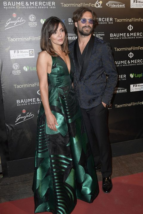 Taormina Film Fest, Ambra Angiolini con il nuovo amore