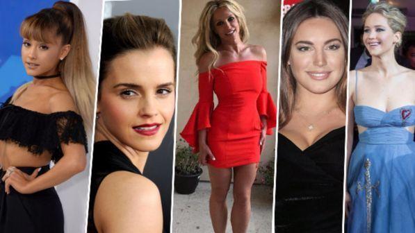 Kate Upton, Britney Spears ed Emma Watson: ecco le più belle del mondo