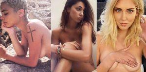 Elodie-Patrizi-Belen-Rodriguez-Chiara-Ferragni-Silvia-Provvedi-Justine-Mattera-Taylor-Mega-nudo-topless