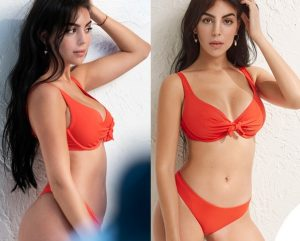 Georgina-Rodriguez-testimonial-Yamamay-bikini-rosso-Essential-2 (1)
